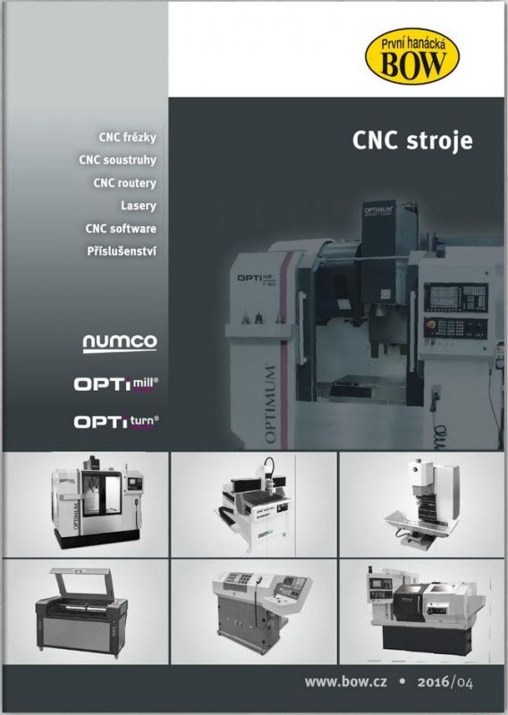 BOW katalog CNC strojů