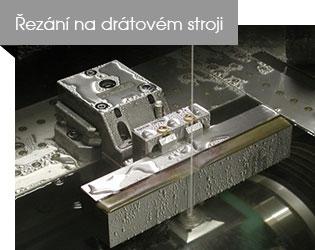 Řezání na drátovém stroji